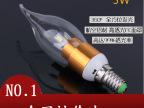 工厂批发 3WLED蜡烛灯泡 三叉蜡烛灯 LED拉尾泡中山货源