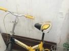 小型自行车黄色折叠100元