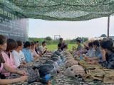 武漢周邊近一點團建地方,一天時間安排團建拓展,江夏農莊