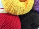 生态牛奶植物棉 纯棉纱线 儿童宝宝手工编织毛线 厂家直销批发价