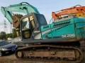 湖南二手挖机交易市场低价出售神钢200挖机长沙二手小挖机