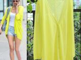 韩版夏季薄款防晒衣女开衫针织衫不规则空调蝙蝠衫宽松大码妈妈装