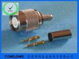 TNC公头焊线式 TNC铆压式接线头