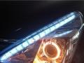 新款骊威**灯升级双光透镜LED双色泪眼