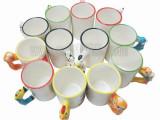 动物生肖杯可爱卡通杯子广告促销产品热转印空白耗材涂层白杯定制