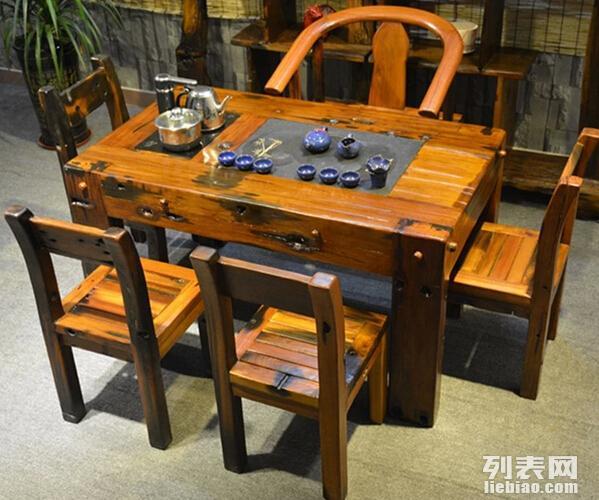 老船木茶台个性最新最全老船木茶台个性搭配优惠 中山船木家具