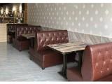 龙岗快餐厅桌椅,快餐店桌椅定制批发厂家质保3年