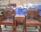 古董老家具紫檀黄花梨椅子屏风罗汉床等转让