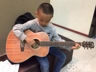 深圳罗湖儿童吉他培训班 小孩从小学吉他益处多多