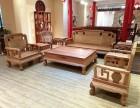 东阳红木家具 新款国色天香沙发 大果紫檀