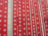 成都首石廣告公司提供專業錦旗橫幅多類型模板制作