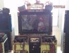 南充动漫城游戏机赛车液晶屏模拟机动漫设备回收与销售