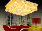 现代LED灯饰水晶灯客厅灯 吸顶灯卧室灯水晶灯具X128 厂家批发