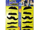 假胡子,12个一板万圣节化装舞会,cosplay装扮 31g