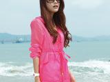 正品沙滩防晒衣女长袖透明防晒服防紫外线防晒衫薄外套开衫空调衫