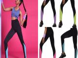 ebay新品欧美健身运动打底裤裤速干瑜伽