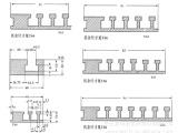 供应LB型撞块槽板(图)u型铝条中空铝条型材铝合金型材