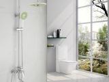 美伦艾特圆形花洒全铜浴室淋雨冷热淋浴花洒套装可升降淋浴器323
