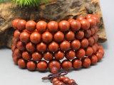 淘宝爆款 精品印度小叶紫檀108颗佛珠手串手链 同料顺纹 长期批