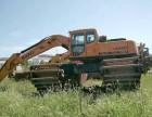 广州市黄埔区中国东方红210型湿地挖掘机出租服务中心