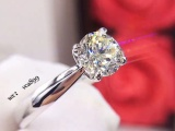 莫桑钻和钻石的价格 莫桑钻一克拉价格