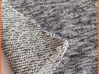 厂家批发雪花纱毛圈布  大毛圈针织卫衣面