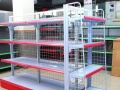 货架仓储库房家用淘宝货架玻璃模型手办展柜超市货架
