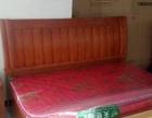 纯实木橡木1.8*2.0米高箱床