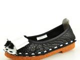 一件代发 欧美外贸原单真皮鞋女单鞋 蝴蝶结牛皮单鞋批发女鞋