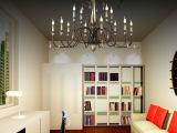 厂家批发欧式卧室蜡烛灯 别墅客厅书房吊灯 现代创意铁艺餐吊灯