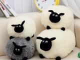 肖恩羊毛绒玩具抱枕新款公仔趴趴绵羊批发 咪咪羊玩偶网供