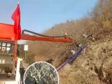 车载式绿篱边坡两用修剪机,高速公路绿篱修剪机边坡割灌机