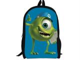 迪士尼怪物公司怪兽大学苏利文大眼仔毛怪 双肩书包单肩背包
