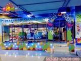 湖南室内儿童乐园欢乐喷球车 游乐设备小火车喷球车回本快