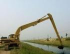出租25米22米20米长臂挖机清淤挖桩挖沉箱