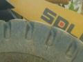 30铲车特种二手半实心轮胎17.525光面