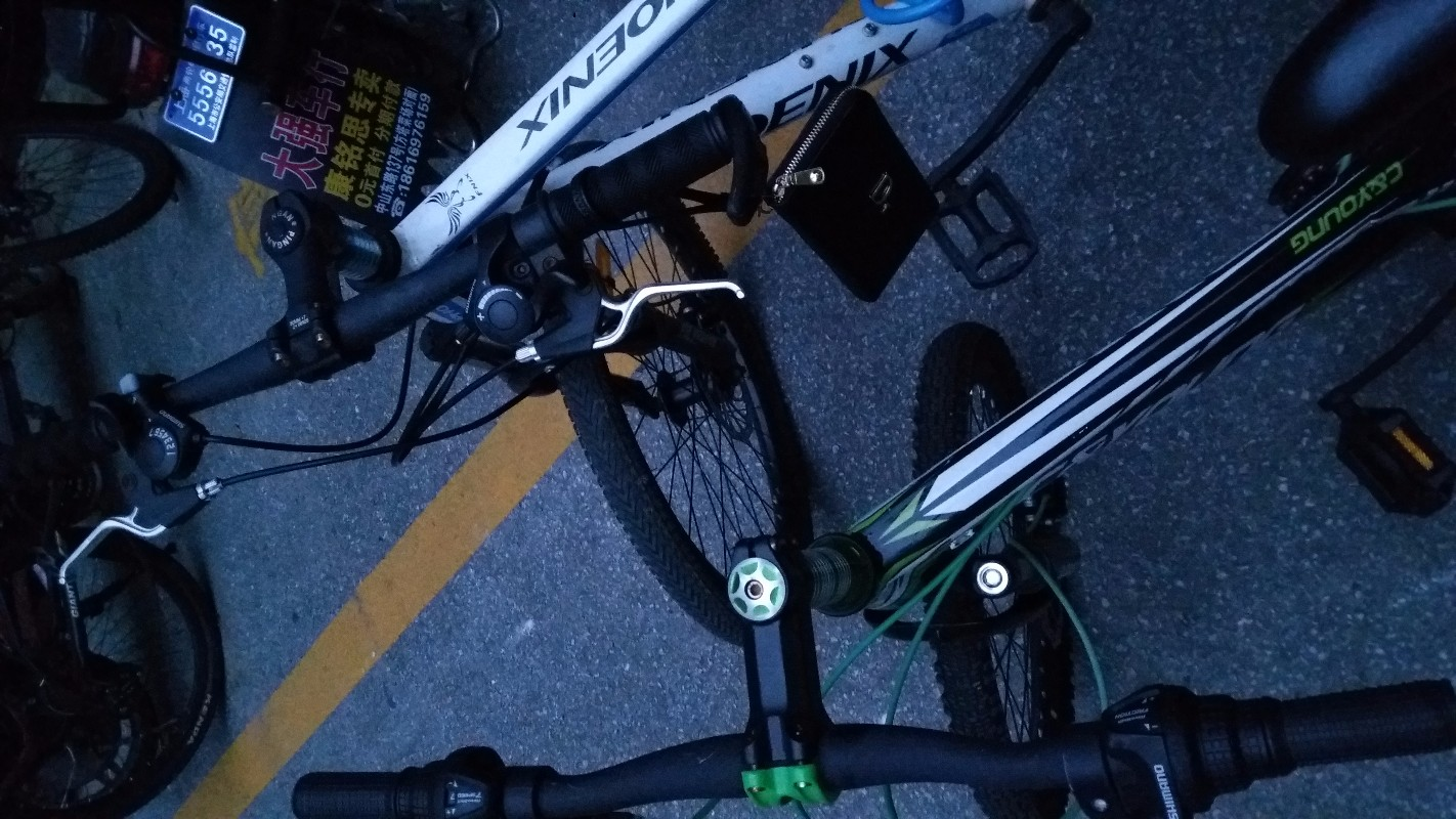 20寸山地自行车八成新200松江万达