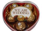 费列罗巧克力we are wedding 5粒装印花礼盒装 喜糖成品