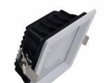 厂家直销LED筒灯外壳 4寸COB方形筒灯外壳套件 12W筒灯外