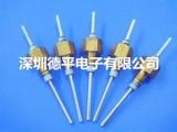 深圳德平电子供应M5引线镀银穿心电容,可定制螺纹式陶瓷滤波器