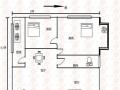 怡福苑,2室,86.62平米,简单装修,南