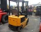 上海闵行区叉车回收,闵行回收1-3吨电瓶叉车柴油叉车