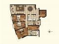 仁恒滨江园三期241平四房,客厅+三卧室西南向,诚售