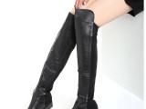 韩版时尚女鞋厂家批发 女式小辣椒款长筒靴
