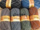 英国KINGCOLE进口线正品 羊毛外套棒针线粗线花色线求代理批