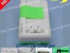 侧夹电池 USB  电池万能充电器 带指