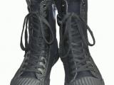 特警帆布作战靴 春秋夏季高腰透气作战靴