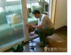 南京专业门窗维修玻璃门各种地弹簧维修各种木门