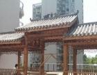 防腐木廊架-洛阳承接防腐木设计带安装 工程包工包料