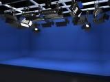 虚拟演播室蓝箱搭建 影视抠像 访谈类抠像